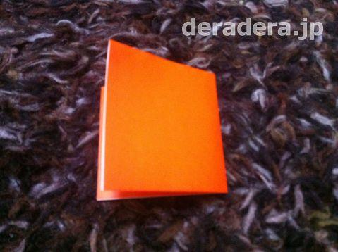 ジャックオランタン 作り方 折り紙01