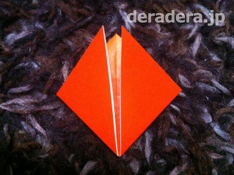 ジャックオランタン 作り方 折り紙05