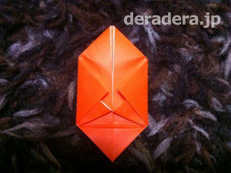 ジャックオランタン 作り方 折り紙08
