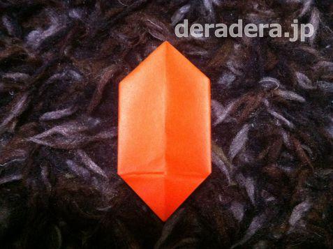 ジャックオランタン 作り方 折り紙09