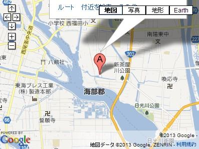 いちご畑(愛知県名古屋市)の地図