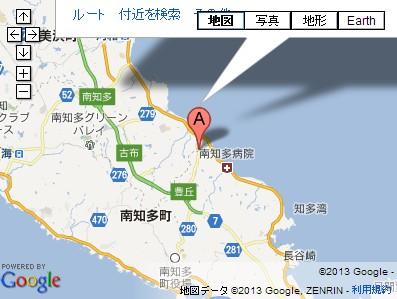 いちごの丘(愛知県南知多町)の地図