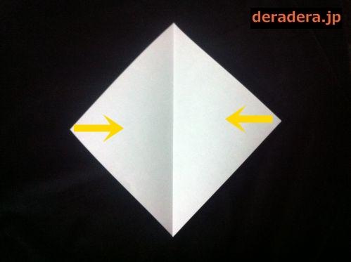 折り紙 お雛様 折り方 簡単11