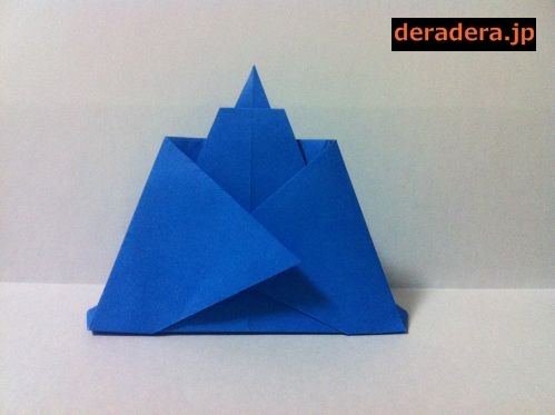 折り紙 お雛様 折り方 簡単17