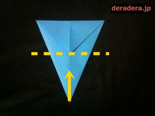 折り紙 お雛様 折り方 簡単13